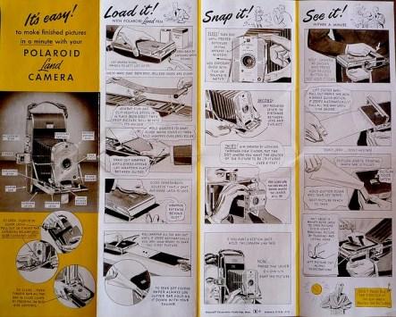 Istruzioni per la Polaroid 95