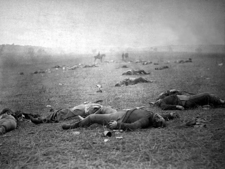 battle-of-gettysburg-by-mathew-brady