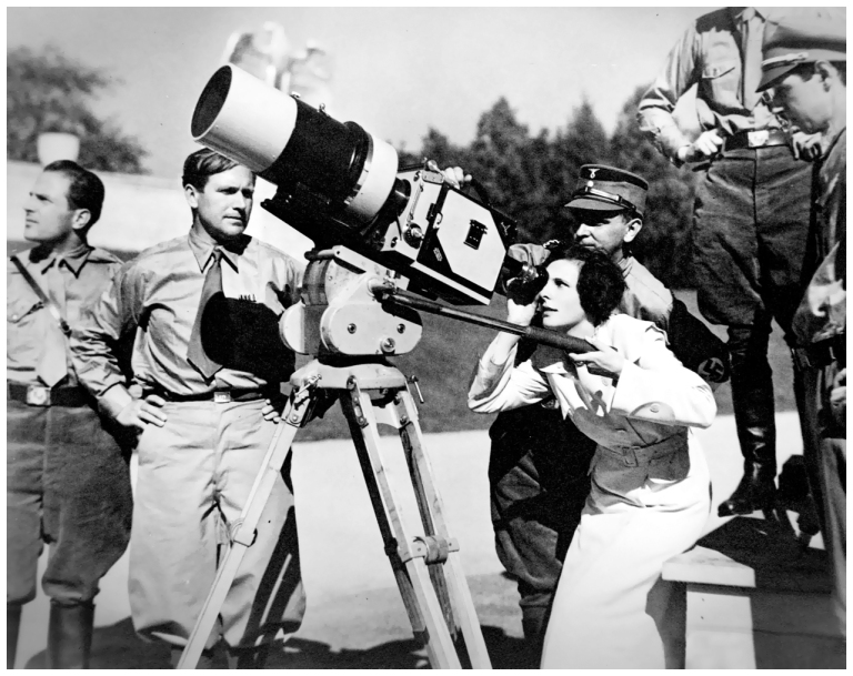 German filmmaker Leni Riefenstahl