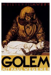The_Golem_1915_Film_Poster