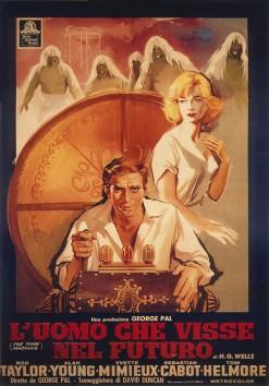 Luomo-che-visse-nel-futuro-1960-The-Time-Machine-George-Pal-poster