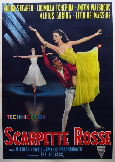 SCARPETTE-ROSSE-Italian-Poster